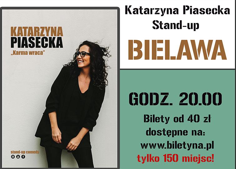 Plakat stand-upu Katarzyny Piaseckiej - miniaturka