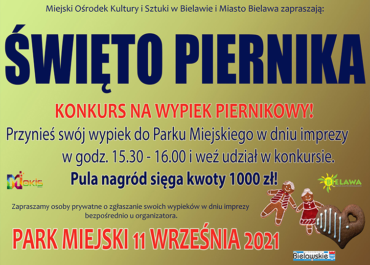 Plakat Święta Piernika - miniaturka