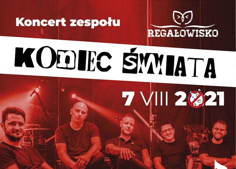 Plakat koncertu KONIEC ŚWIATA - miniaturka