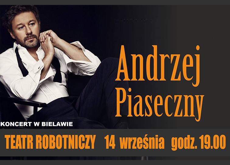 Plakat koncertu Andrzeja Piasecznego - miniaturka