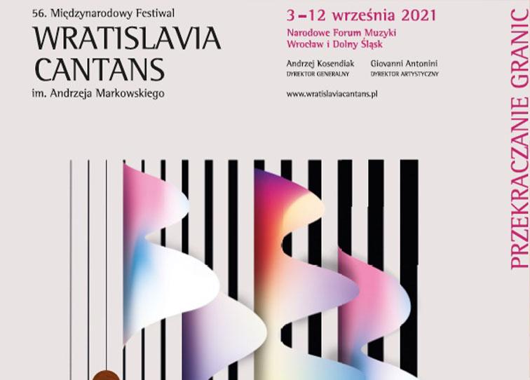 Plakat koncertu Wratislavia Cantans - miniaturka